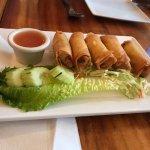 yummy spring rolls