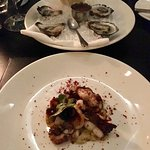 Oysters and Octopus starters