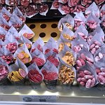St Miguel market across the roaf