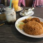 Chicken Kabsa (RM16) with Soy cendol (RM6.95)