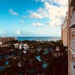 From our 7th floor balcony toward the ocean.