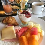 Complimentary breakfast - Executive Lounge