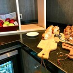 Complimentary snacks - Executive Lounge