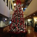 Lobby during holidays