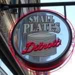 Small Plates, near Ford Field / Comerica Park, Detroit, Michigan.
