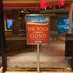 Closed during winter but they still charge a hefty daily resort fee. I got charged $66.68 for 2
