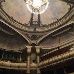 Inside of the opera house