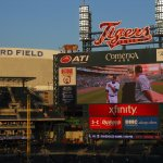 Comerica Park, Home of the Detroit Tigers, Detroit, Michigan.