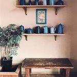 Photo of Blue Coffee Pot