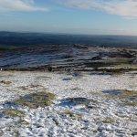 Snow on the ground haytor