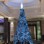Christmas Tree at the Radisson Blu Lobby