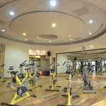 A fully equipped gym available