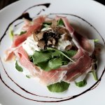 Parma Ham Rocket with fresh Truffles