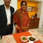 Your hosts Jyoti and Durga