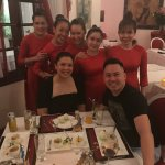 Thanh and her team making sure we finshed our dessert - thanks ladies