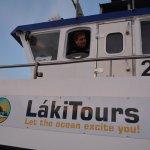 Laki and his boat