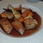 Veau, panais et carottes du menu Lunch
