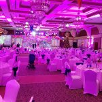 Ball room for NYE gala dinner