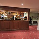 Bar in the Princess Suite.