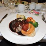 One of the main courses - Beef which was excellent.