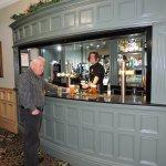 Main Bar on the ground floor.