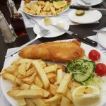 2 portions of fish & chips please