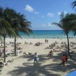 Beach area outside Yakatan hotel