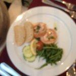 Christmas dinner starter Salmon