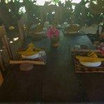 il ristorante in spiaggia