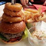 The Wacky Burger, 8oz steak burger