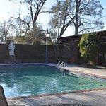 The pool (photo taken during winter)