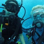 Me and my awesome dive instructor Bob!