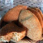 Pão clássico marroquino