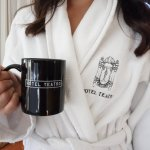 Soft robes and your own Keurig
