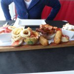 Tapas board for two