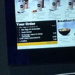 Our order displayed to remove errors