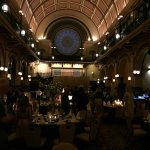 The incredible Grand Ballroom looked like a fairy tale scene!