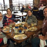 Delicious food at the Rustic