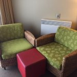Seating in room at Scenic Hotel