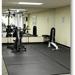 The 24-Hour Fitness Center features a large stretching room perfect for yoga or pilates.