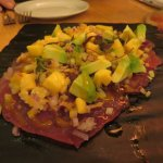 Ahi Tuna Carpaccio