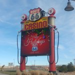 Main Route 66 casino sign
