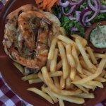 chicken with shrimp
