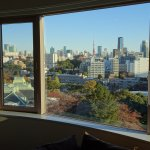 View of Tokyo Tower from room