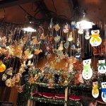 Many, many ornaments!