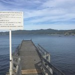 Wharf across the road ... has a weight limit of 100kg per m2 !!