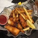 Chips 'n Ales - classic fish and chips - WinStar Casino