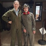 Pilot Lucy and Harry ready to go.