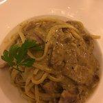 tagliolini/spaghetti handmade with lamb ragu'