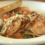 Staff favorite Cajun Chicken Pasta.